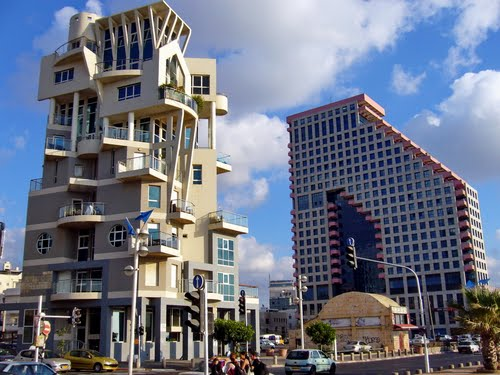 Modern architecture Tel Aviv